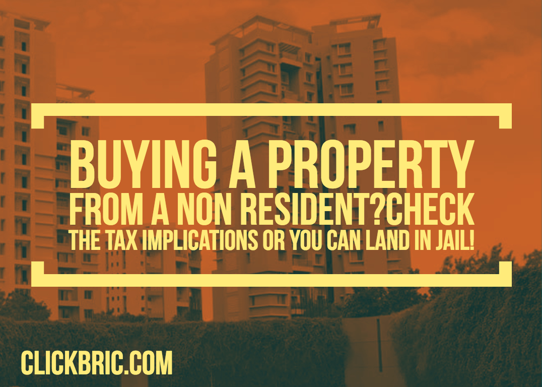 TDS on purchase of immovable property from non resident